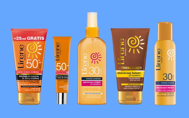 Zestaw produktów Lirene Sun