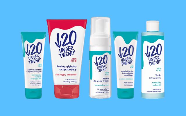 Zestaw kosmetyków Under Twenty