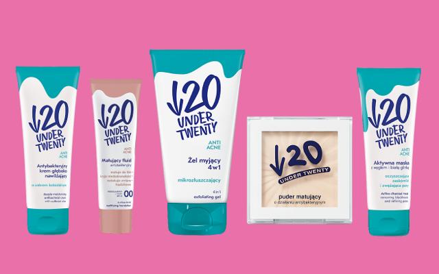 Kosmetyki do twarzy Under Twenty